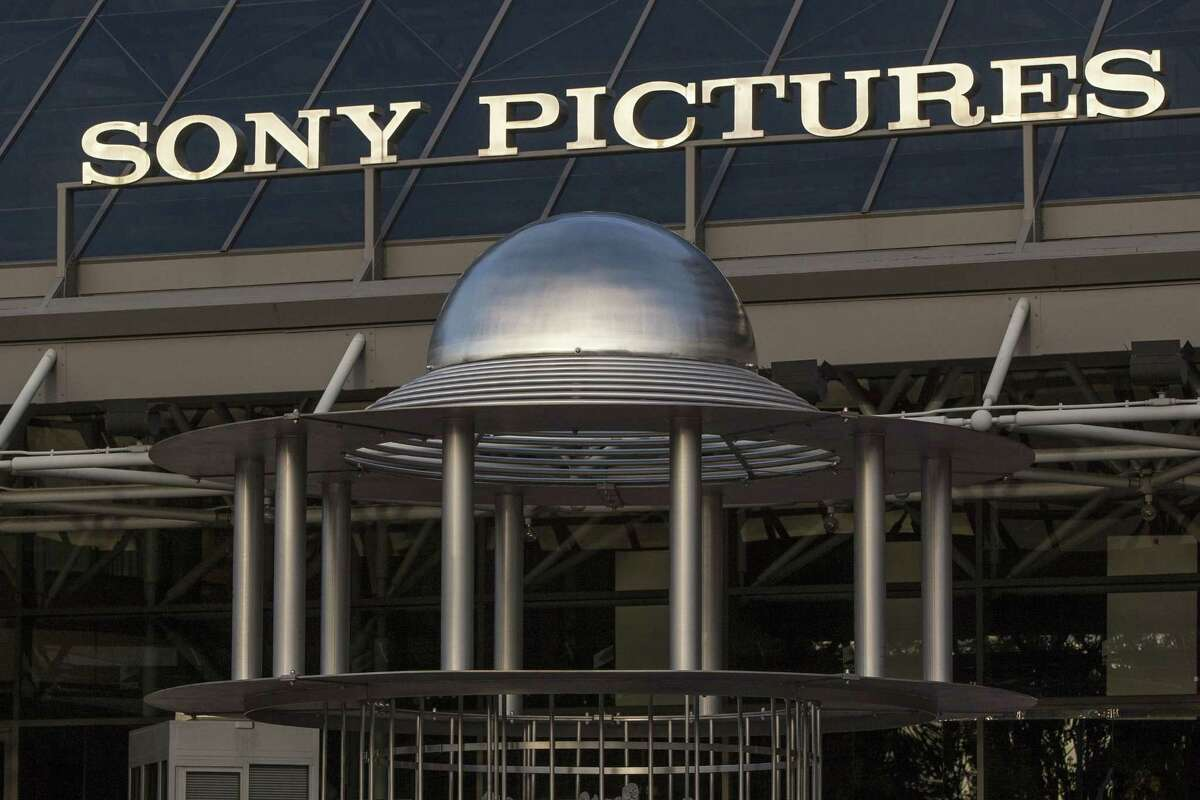 An exterior view of the Sony Pictures Plaza building is seen in Culver City, Calif. on Dec. 19, 2014.