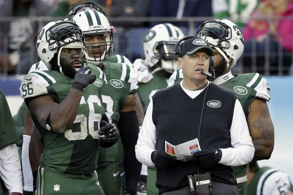 Rex Ryan and the New York Jets will host the New England Patriots Sunday at MetLife Stadium.
