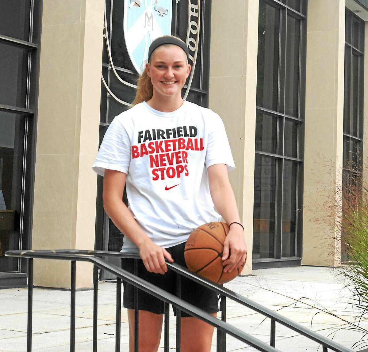 Durham's Kendra Landy is ready to begin her basketball career at Fairfield University.