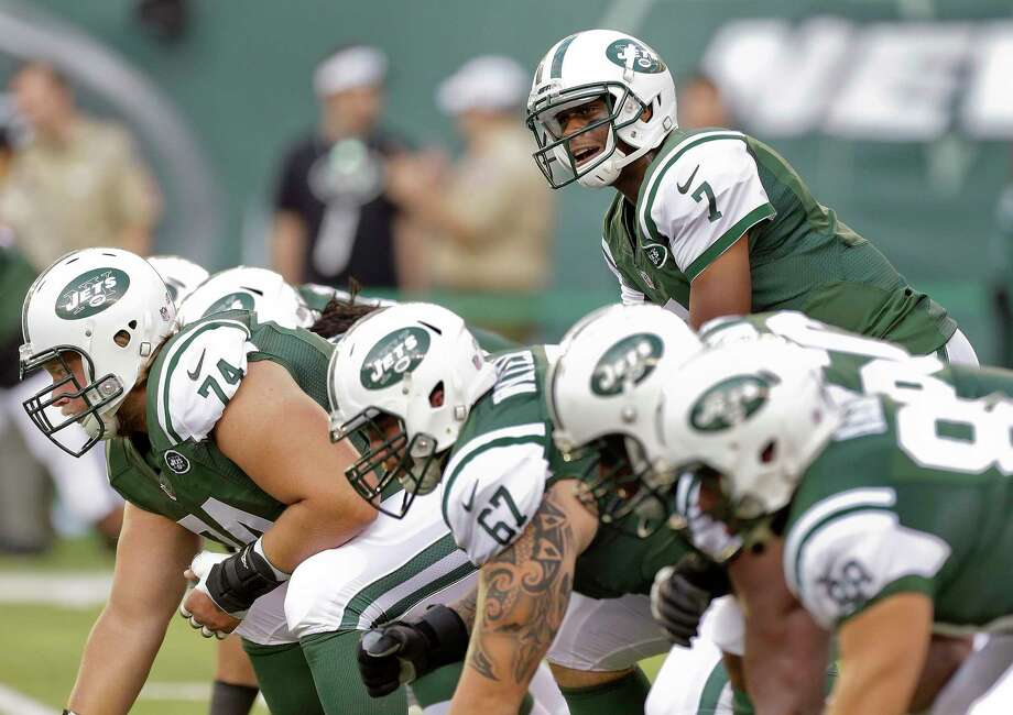 The success — or failure — of the New York Jets this season will likely come down to the play of second-year quarterback Geno Smith. Photo: The Associated Press File Photo  / AP