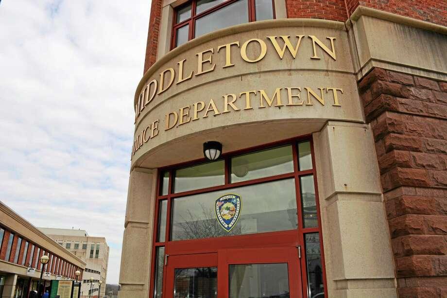 Cassandra Day / The Middletown Press ¬ Middletown Police Photo: Journal Register Co.
