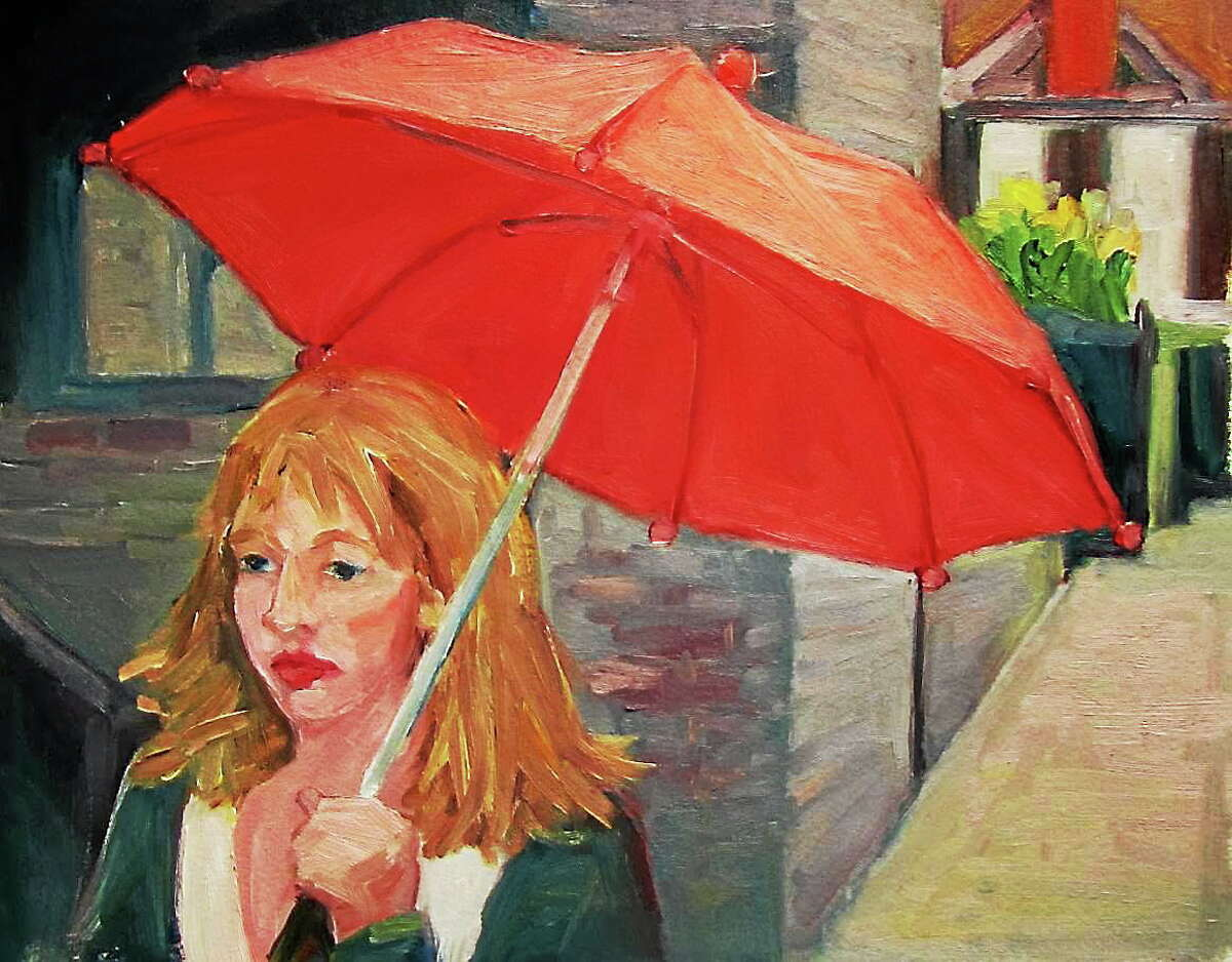 Coverage, by Michael Centrella of Cheshire, is one of the many works to be featured at a new show at Maple and Main in Cheshire.