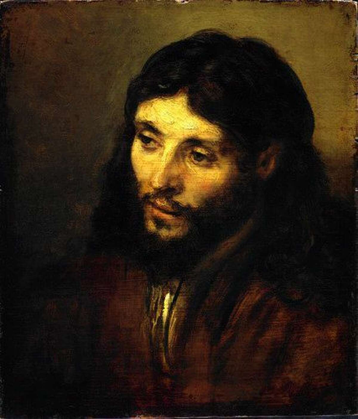 Rembrandt painted this image of Jesus.