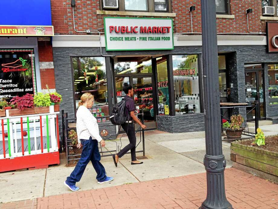 The owner of Middletown's Public Market on Main Street, John Passacantando, died unexpectedly this week. He purchased the Italian grocery store in 1989 and made substantial upgrades. Photo: Cassandra Day — The Middletown Press