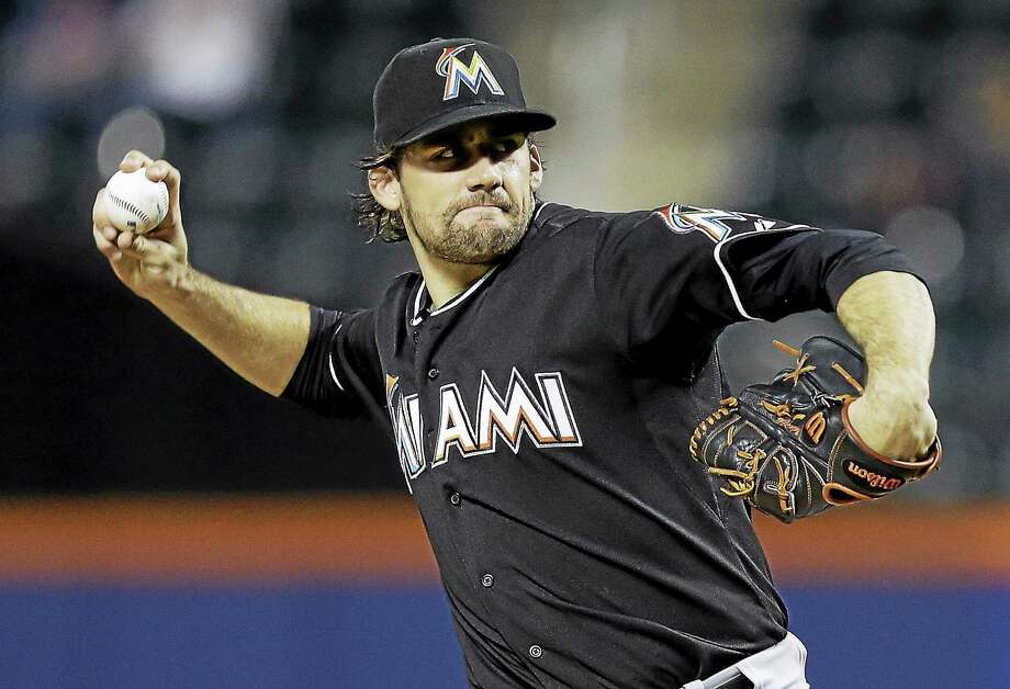 Nathan Eovaldi will be headed to New York after the Yankees and Marlins agreed to a four-player trade on Friday. Photo: The Associated Press File Photo  / AP2014