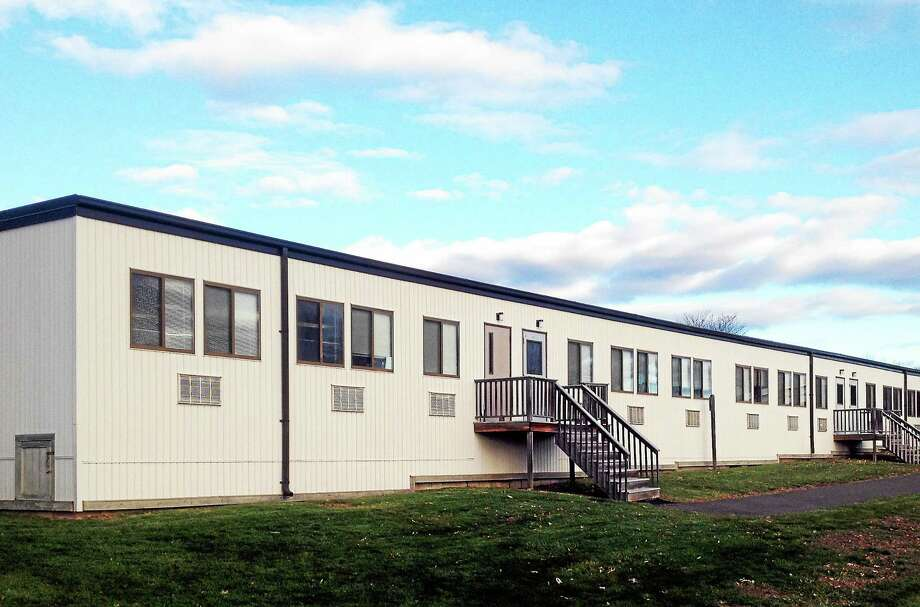 The Portland Board of Education this week voted to move second-graders out of portable classrooms outside Valley View School to Gildersleeve, which now houses third- and fourth-graders. Photo: Jeff Mill — The Middletown Press