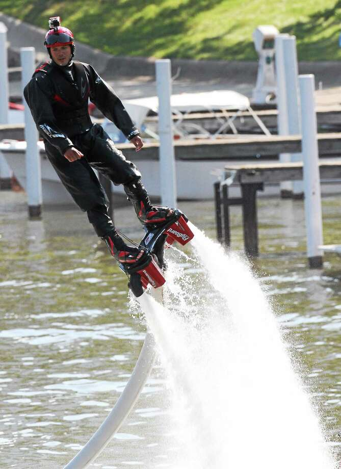Jet skiing on the river demands safety precautions. Photo: File Photo  / David S. Angell
