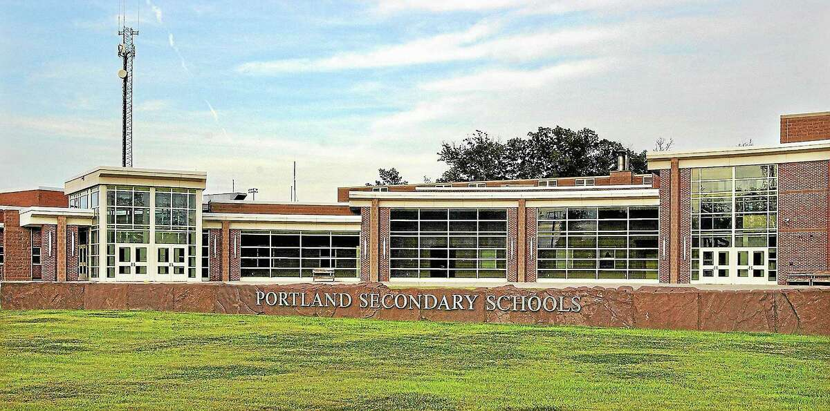 Middletown Press file photo ¬ Portland High School.
