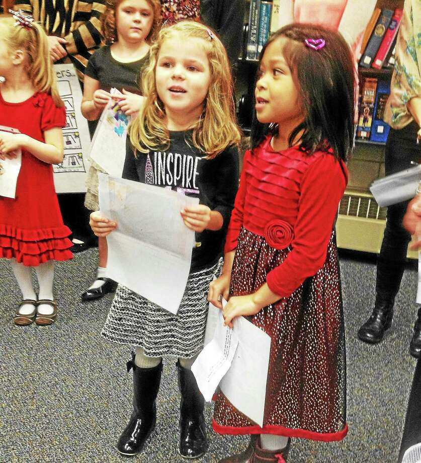 East Hampton Public Schools resume classes this week. When last yearís kindergarteners return, some of which are shown here, they'll move from play-based to formal learning. Photo: File Photo