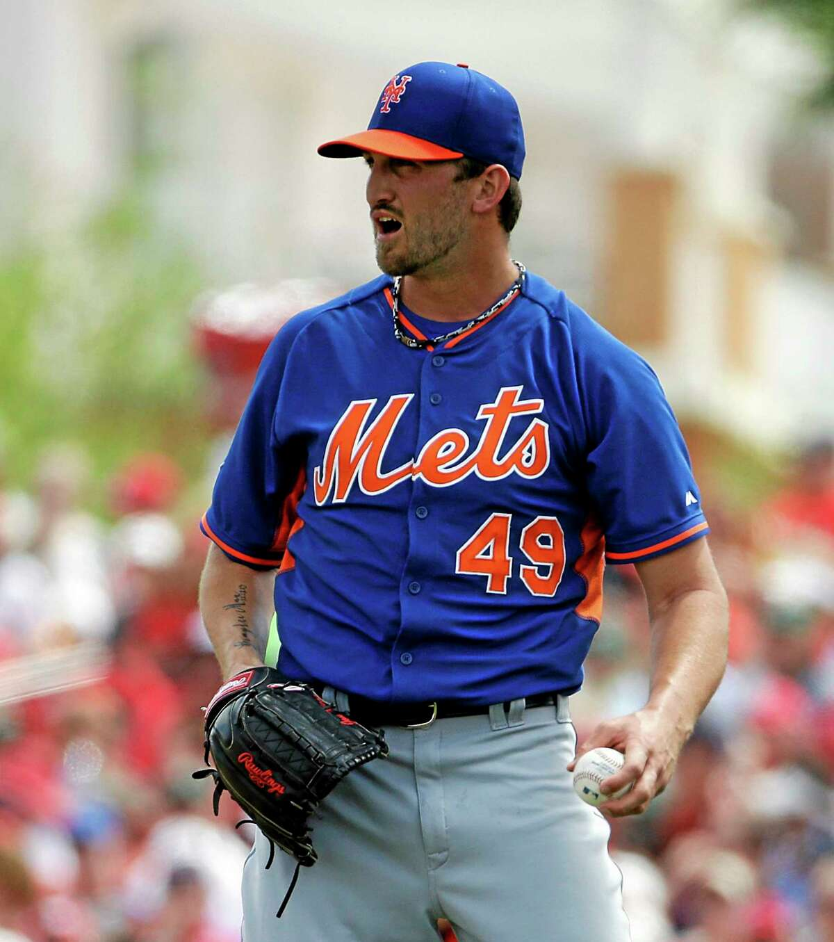 Starting pitcher Jonathon Niese is back with the New York Mets after undergoing an MRI on his left elbow that came back clean.