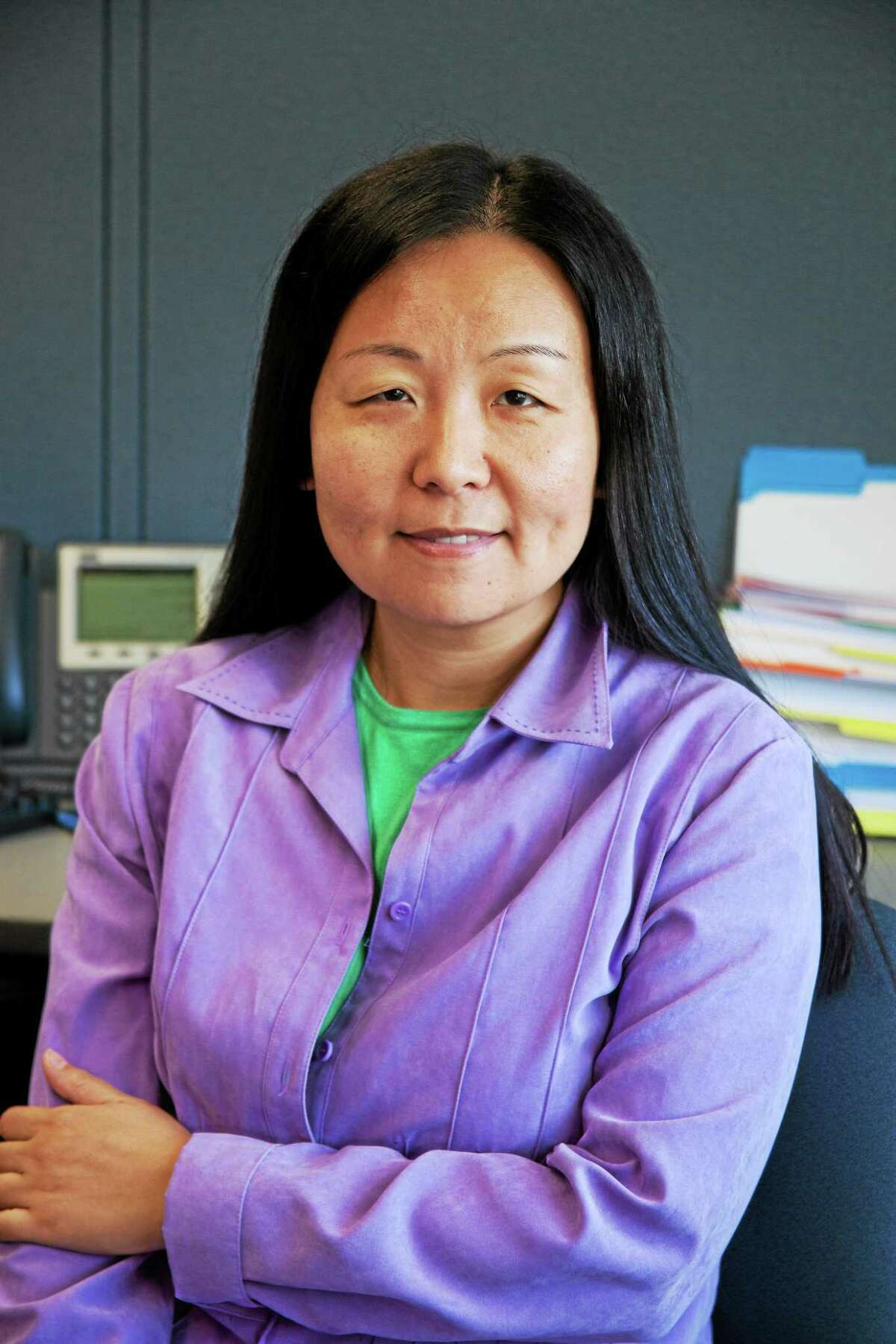 Assistant professor and coordinator of the Computer Engineering Technology program and the Engineering Science Program at Middlesex Community College in Middletown, Dr. Lin Lin