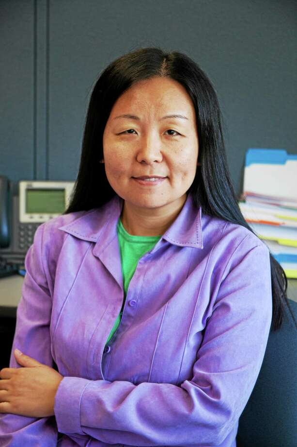 Assistant professor and coordinator of the Computer Engineering Technology program and the Engineering Science Program at Middlesex Community College in Middletown, Dr. Lin Lin Photo: Courtesy Photo