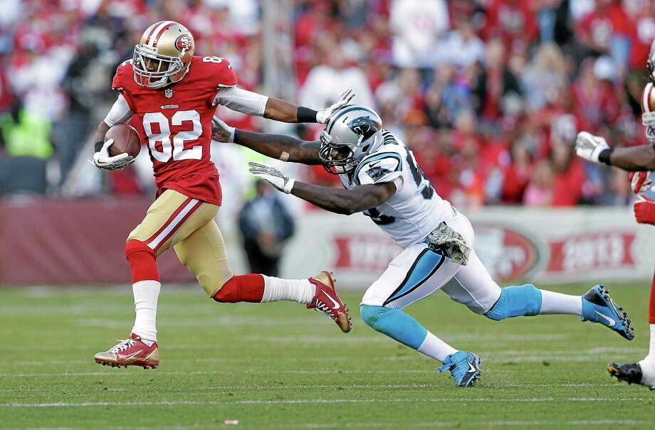 Former San Francisco 49ers wide receiver Mario Manningham, one of the New York Giants' most productive receivers from 2008-2011, will rejoin the team. Photo: Marcio Jose Sanchez — The Associated Press  / AP