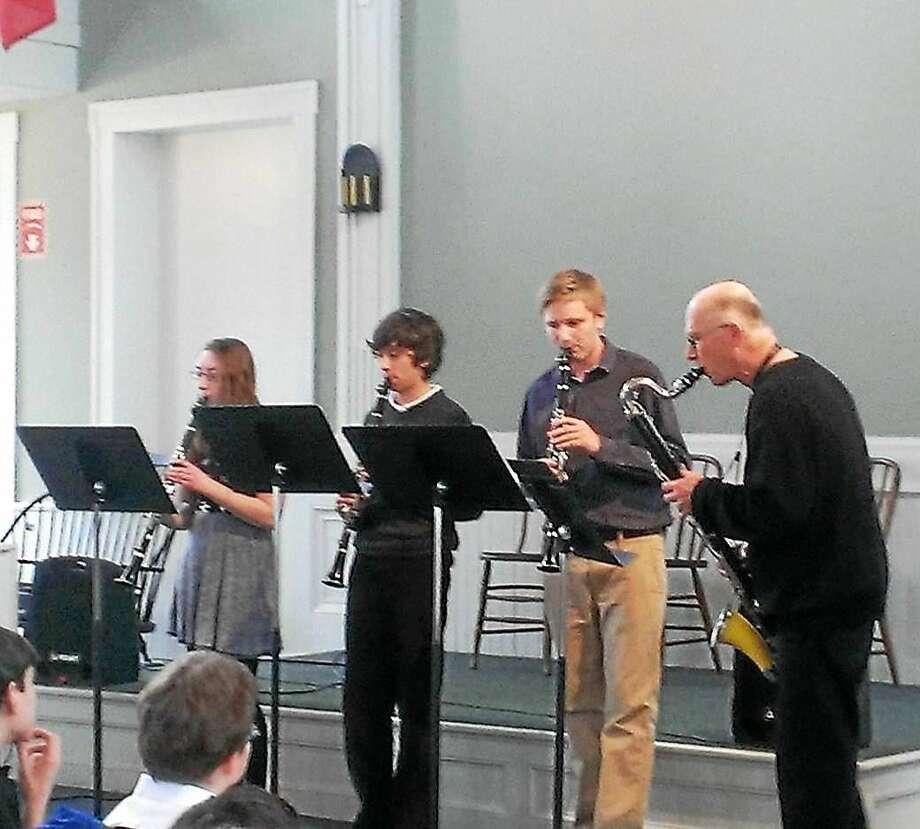 Contributed photo Community Music School's clarinet ensemble, one of the many groups that embody the school and its membership. Photo: Journal Register Co.