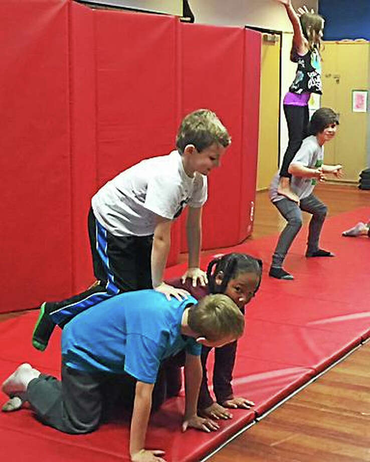 Contributed photoCircus after school programs are offered at Oddfellows Playhouse this winter. Photo: Journal Register Co.