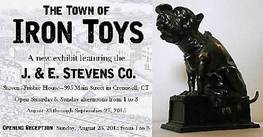 "Contributed photo A new exhibit, ""The Town of Iron Toys"" is on display at the Frisbie House in Cromwell. Photo: Journal Register Co."