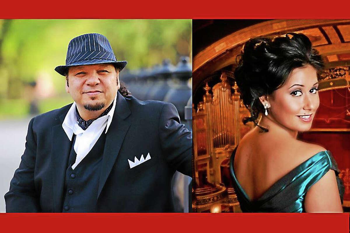 Contributed photosCelebrate the holiday season with a concert featuring renowned tenor Michéal Castaldo and guest soprano Marissa Famiglietti Dec. 20, 3 p.m. at the Mattatuck Museum in Waterbury.