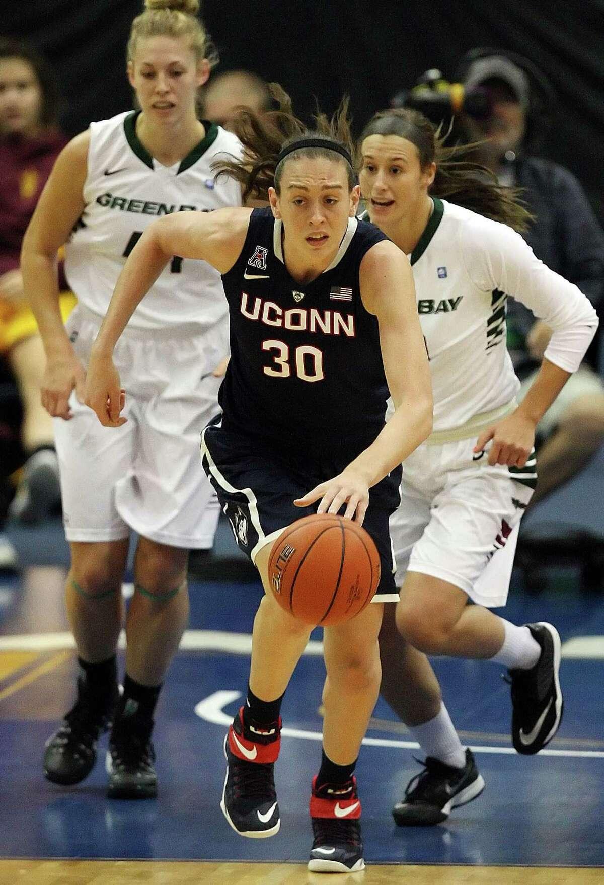 UConn's Breanna Stewart.
