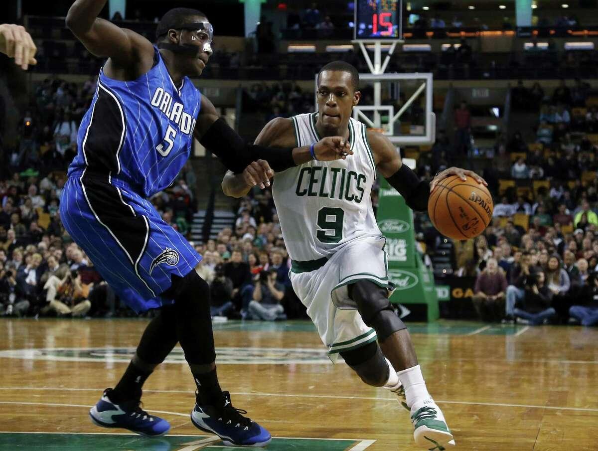The Boston Celtics traded guard Rajon Rondo to the Dallas Mavericks on Thursday.