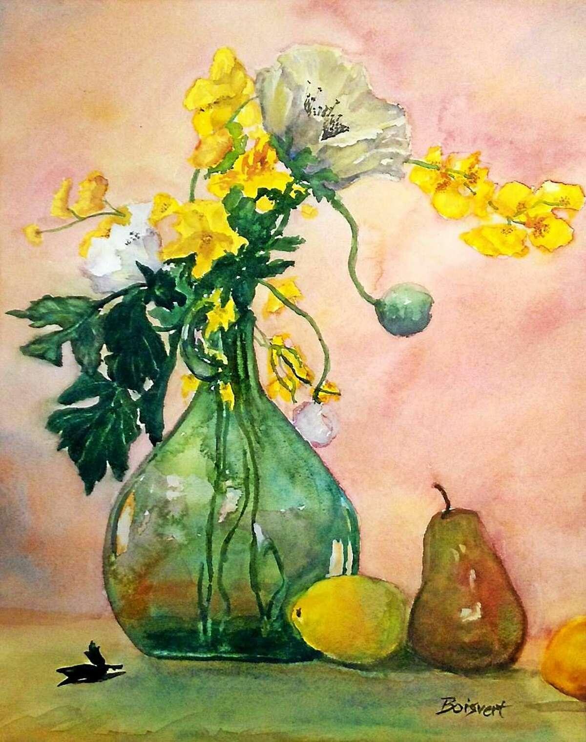 Lemon Flowers by Linda DeStefanis of Rocky Hill