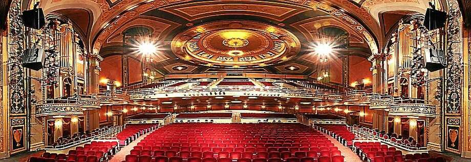 Contributed photo A special tour of the Palace Theater in Waterbury is planned on Sept. 19. Photo: Journal Register Co.