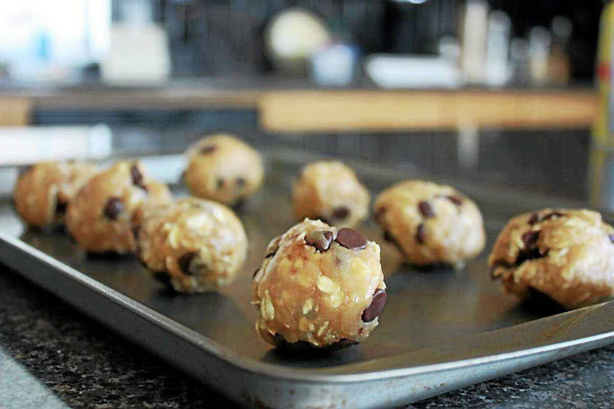 Vegan chocolate chip oatmeal cookies are easy to make. Submitted Photo.