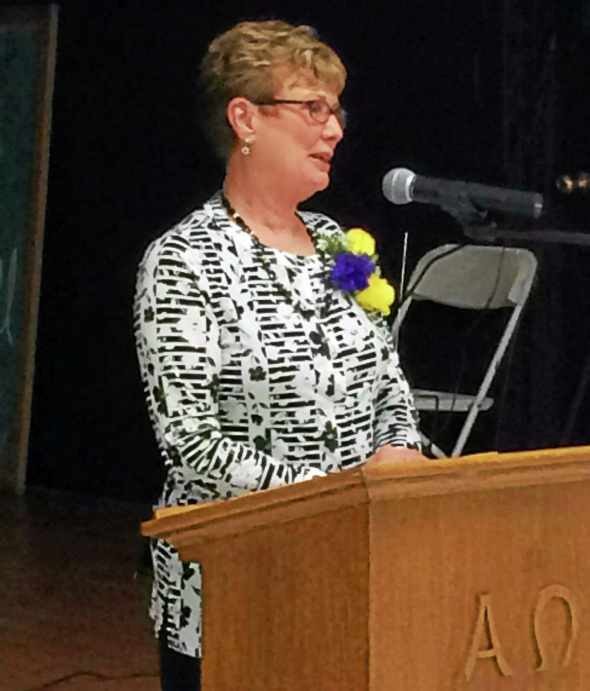 Joyce Yarrow is stepping down from the Middlesex Habitat for Humanity after 11 years at the helm.