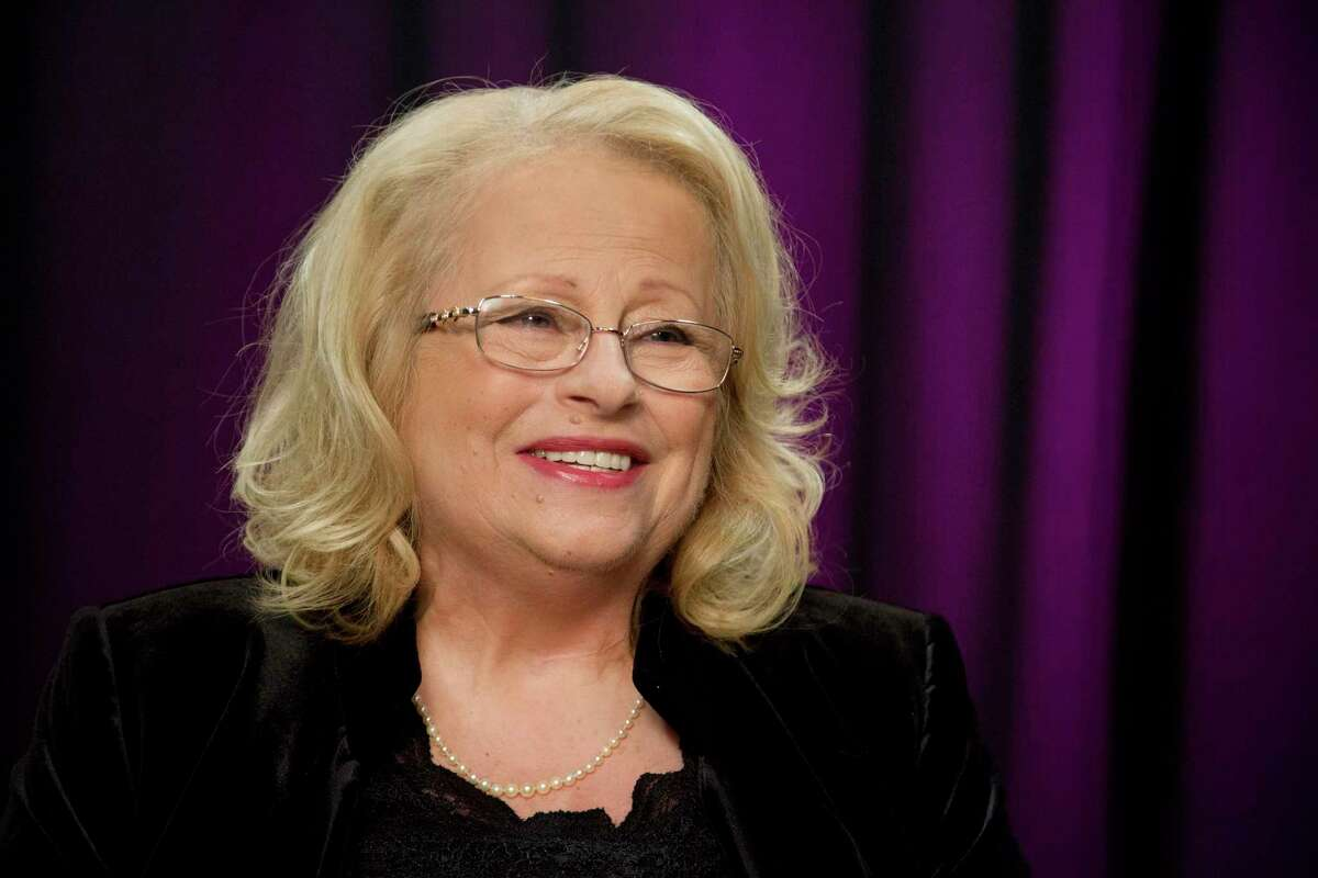 """In this Nov. 19, 2015 file photo, Christie Laume, sister-in-law of the late Edith Piaf, discusses her experiences with the French entertainer during an interview in New York. Piaf, famous for her hit """"La Vie En Rose,"""" would have turned 100 on Dec. 19, 2015. At only 4 feet 8 inches, her voice was strong and distinctive, a trembling alto wail that became the voice of the Paris working class. Piaf died on Oct. 10, 1963, from exhaustion and liver disease at the age of 47."""