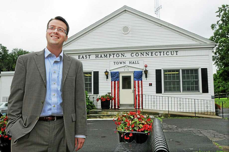 Catherine Avalone - The Middletown Press East Hampton Town Manager Michael Maniscalco Photo: Journal Register Co. / TheMiddletownPress