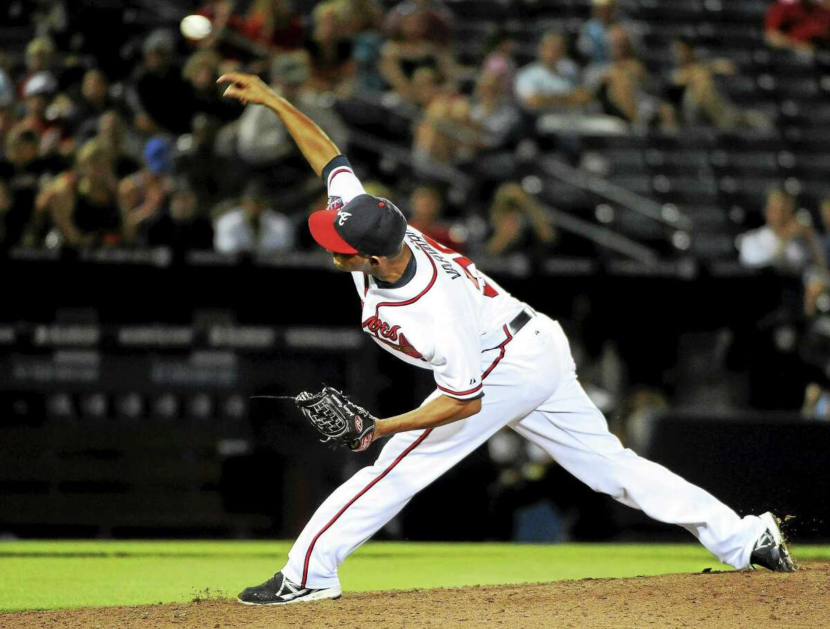 The Boston Red Sox traded for Atlanta Braves relief pitcher Anthony Varvaro.