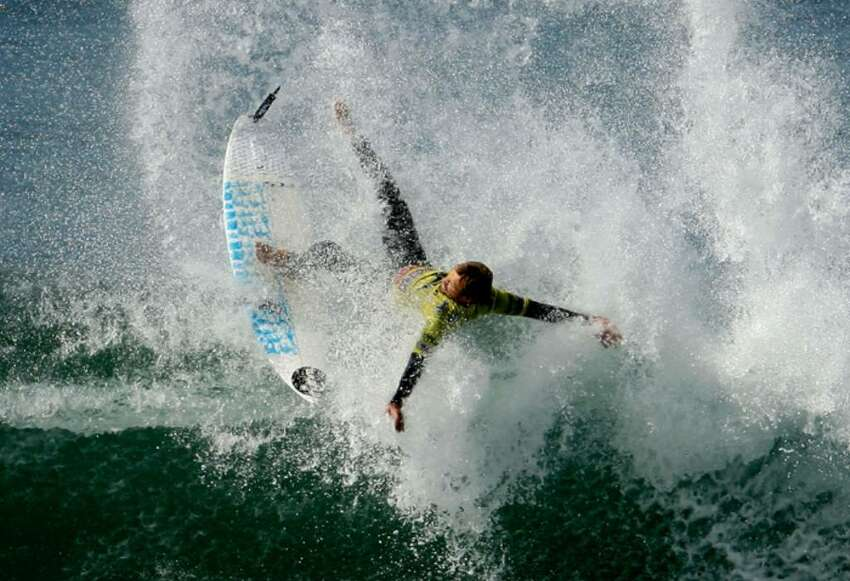 In appreciation of this Sunday's International Surfing Day, celebrated annually on or near the summer solstice, here are some gnarly images from the archives.