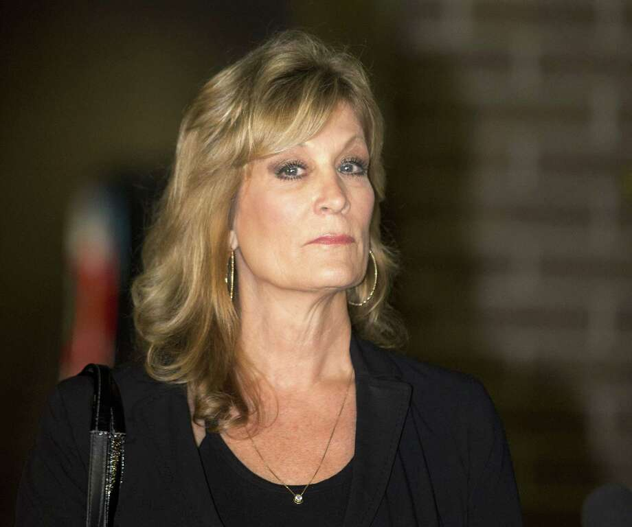 In this Dec. 5, 2014 photo, Judy Huth appears at a press conference with attorney Gloria Allred, not shown, outside the Los Angeles Police Department's Wilshire Division station in Los Angeles. Photo: AP Photo/Anthony McCartney, File  / AP