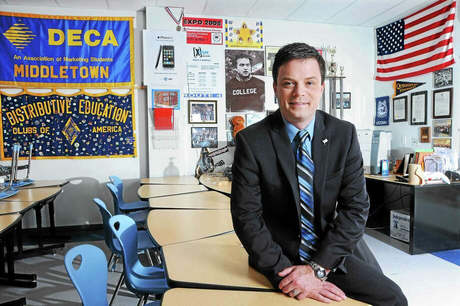 Dave Reynolds is coordinator of Career & Technical Education and the Distributive Education Clubs of America advisor at Middletown High School. Photo: File  / TheMiddletownPress