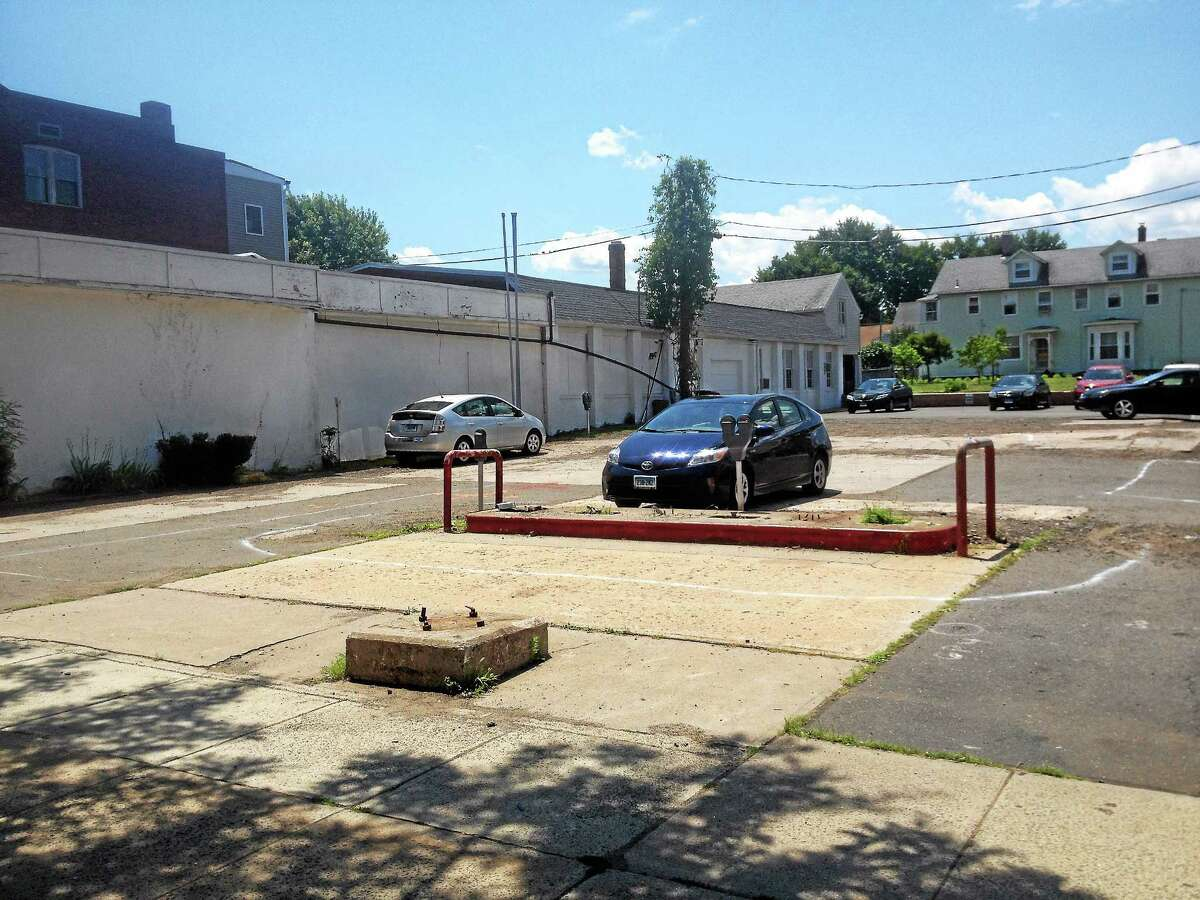 The city is asking the state for grant money to clean contamination at Grand and Main streets in Middletown.