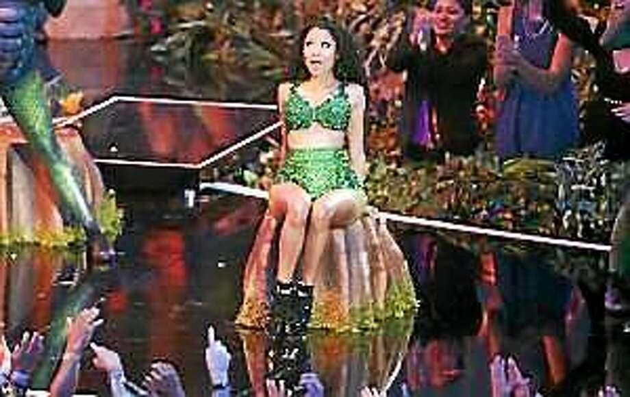Nicki Minaj performs at the MTV Video Music Awards at The Forum on Sunday, Aug. 24, 2014, in Inglewood, Calif. Photo: (Matt Sayles — The Associated Press)