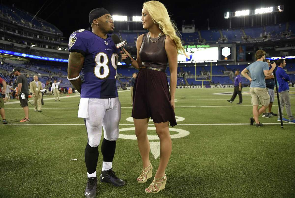 ESPN reporter Britt McHenry has been suspended after a video surfaced of her insulting a towing company clerk's intelligence, job and appearance.