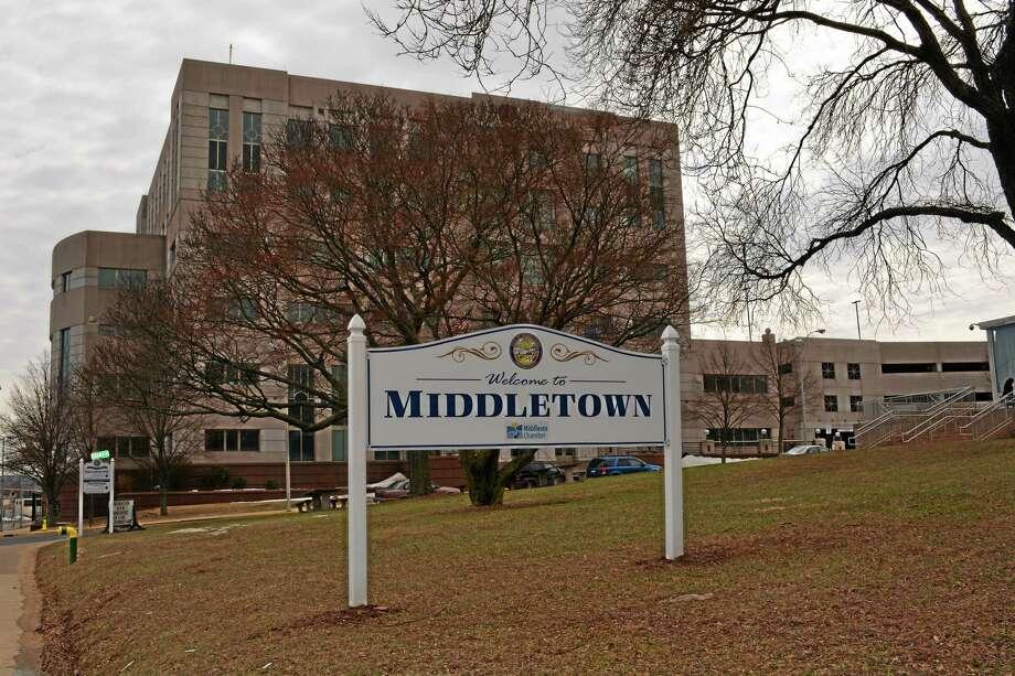 Cassandra Day - The Middletown Press Middletown city hall Photo: Journal Register Co.
