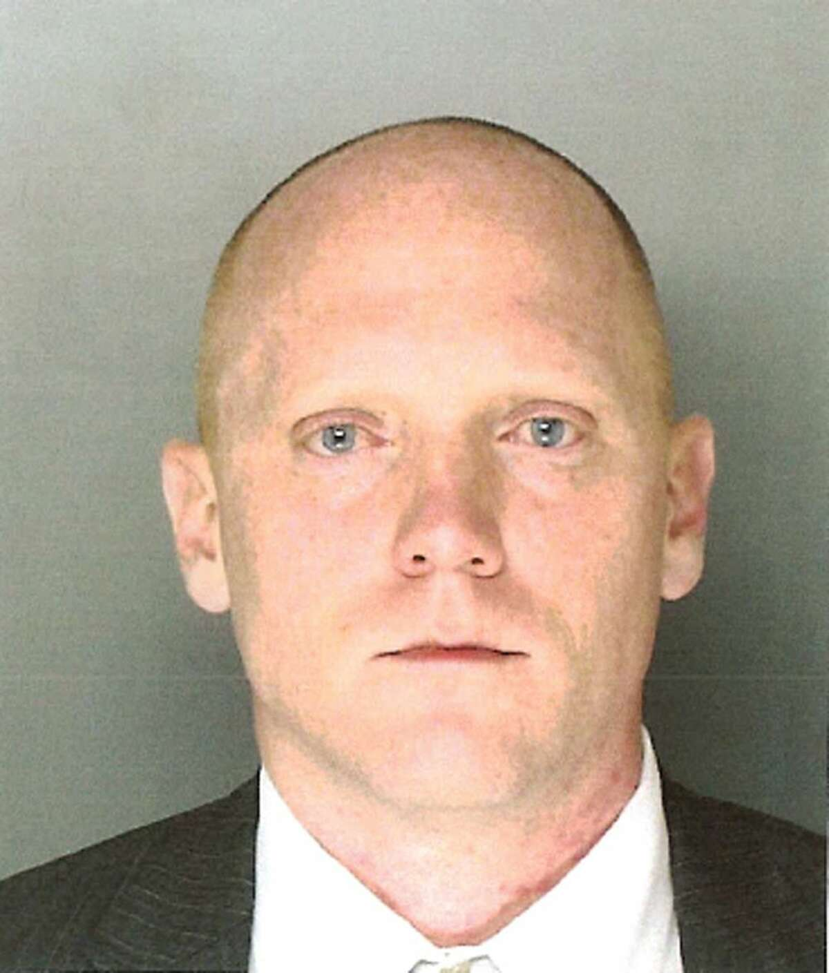 "This undated photo provided by the Montgomery County Office of the District Attorney in Norristown, Pa., shows Bradley William Stone, 35, of Pennsburg, Pa., a suspect in six shooting deaths in Montgomery County on Monday, Dec. 15, 2014. District Attorney Risa Vetri Ferman said all of the victims have a ""familial relationship"" to Stone."
