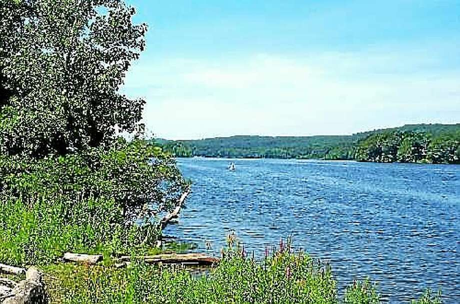 The Middlesex Land Trust now owns the Brainerd Quarry Preserve in Haddam and is planning to develop a trail system for the public to enjoy for hiking, passive recreation and education. The tract lies along Injun Hollow Road just north of the 585-acre Connecticut Yankee property. Photo: Courtesy State DEEP