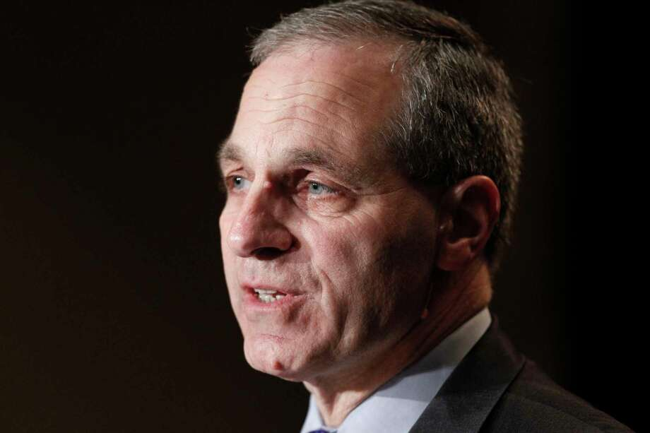 FILE - In this Nov. 21, 2011 file photo, former FBI director Louis Freeh, speaks during a news conference in Philadelphia. Freeh was airlifted to a hospital Monday, Aug. 25, 2014, after a single-car crash in Vermont, authorities said. State police said Freeh was taken by helicopter to a New Hampshire hospital with serious injuries following the crash in Barnard, a small town about 90 miles northwest of Boston. (AP Photo/Alex Brandon, File) Photo: AP / AP