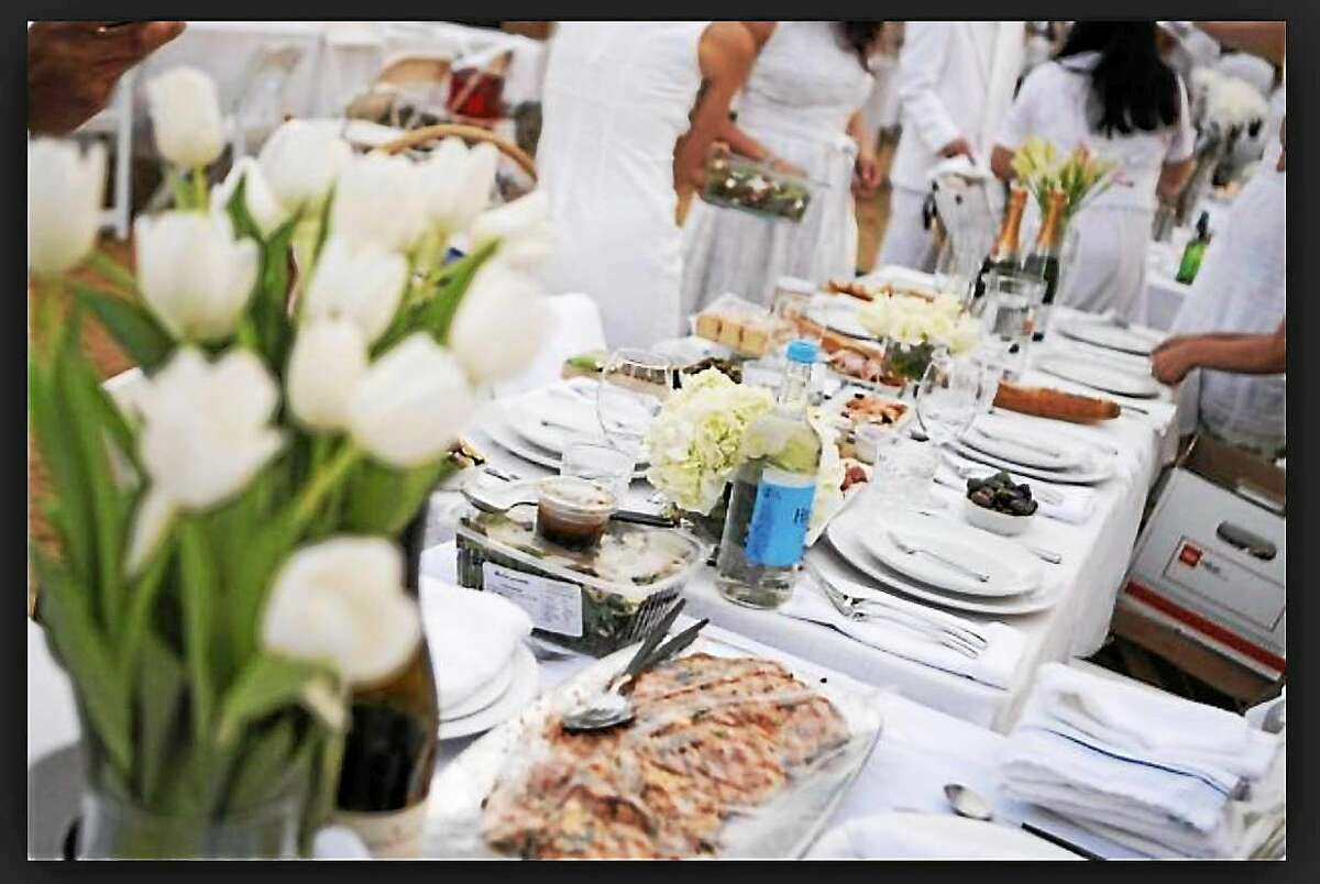 Dinner le Blanc has been a tradition in France for decades and the flash mob dinner comes to Durham on Sept. 7 for An Evening in White.