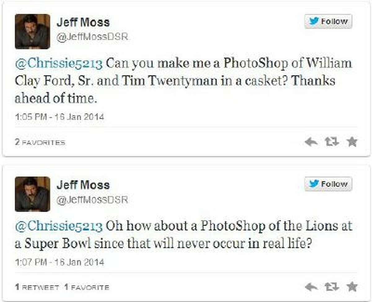 The tweets in quetion, via screengrab.