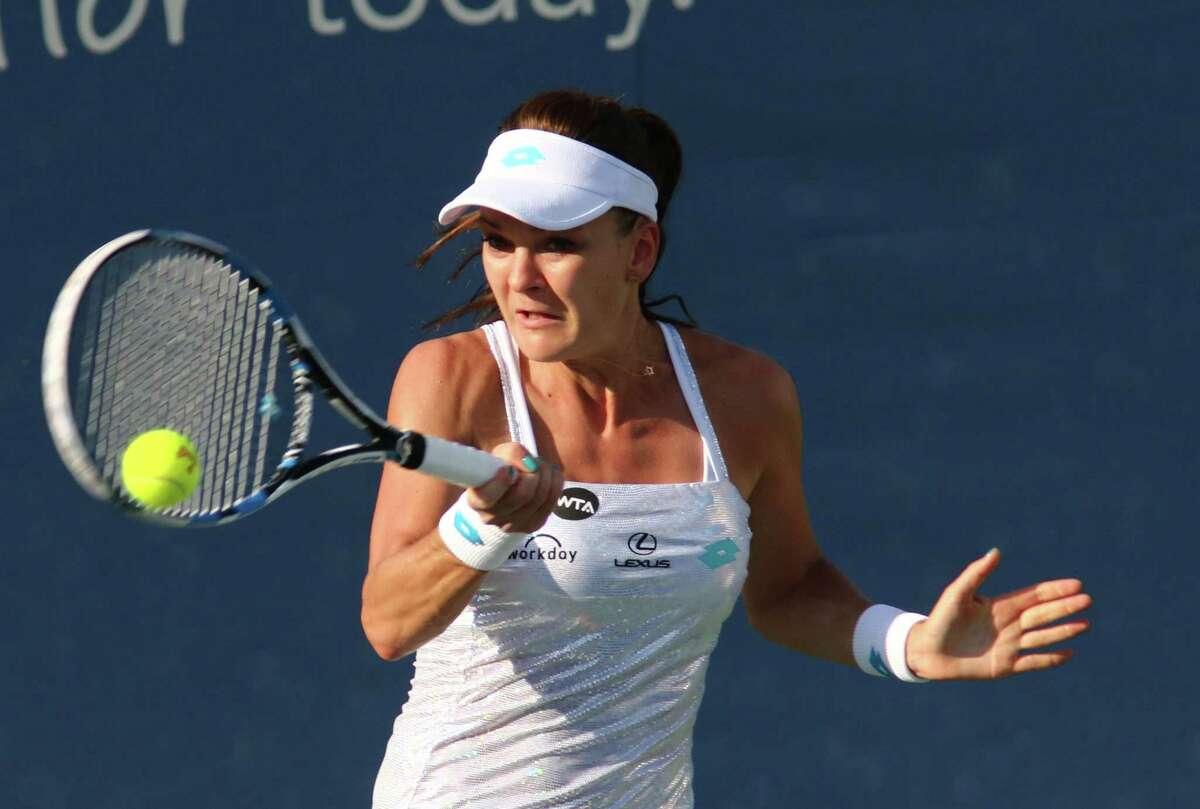 Agnieszka Radwanska received a wild card into the Connecticut Open.
