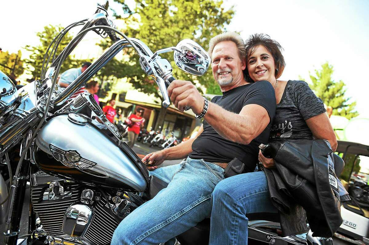 Five thousand motorcycles converged on Main Street in what may have be the largest showing of bikes in the history of Middletown's 9th annual Motorcycle Mania.