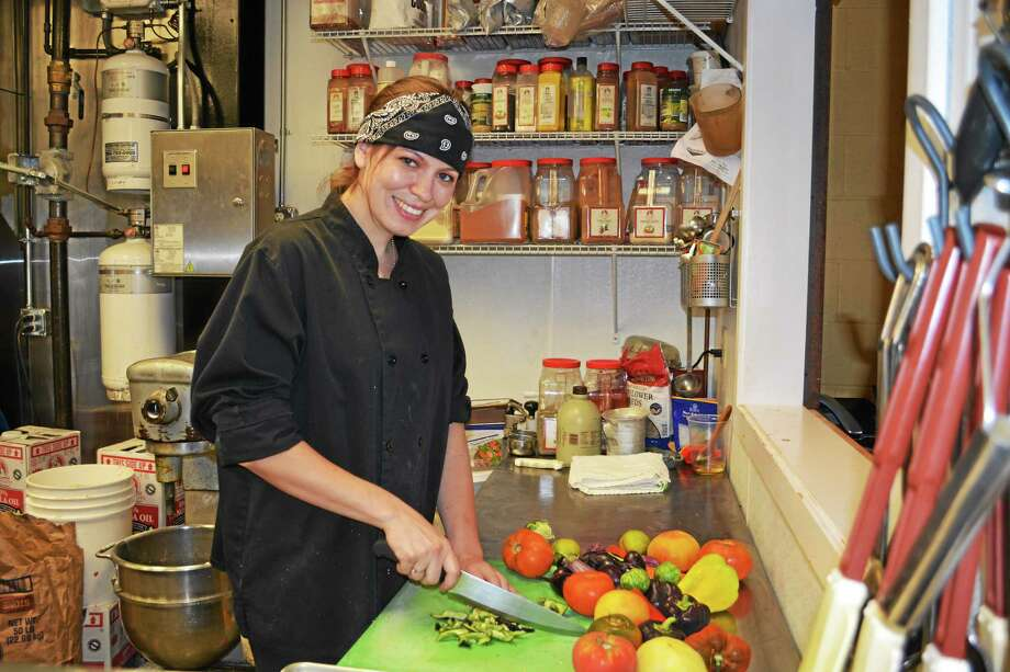 Tamara Cayer is the new head chef at It's Only Natural Restaurant in Middletown. Photo: Kaitlyn Schroyer - The Middletown Press