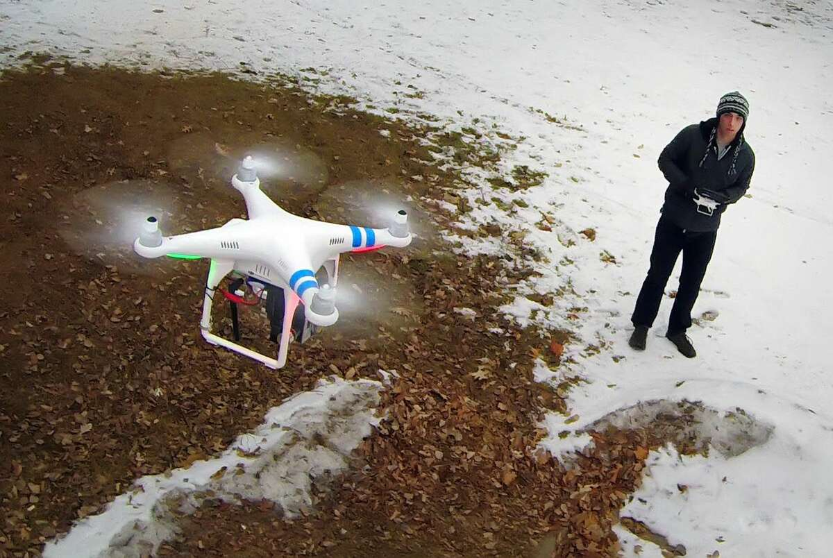 The Federal Aviation Administration allows drone hobbyists to fly miniature aircraft as long as they fly their drones where they can see them, away from airports and below 400 feet.