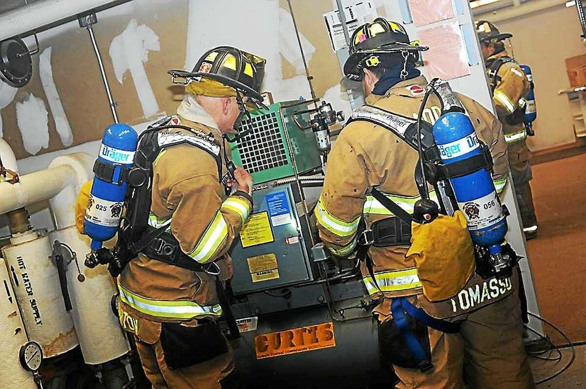 Haddam crews responded to a fire alarm at Haddam Elementary School on Dec. 9.