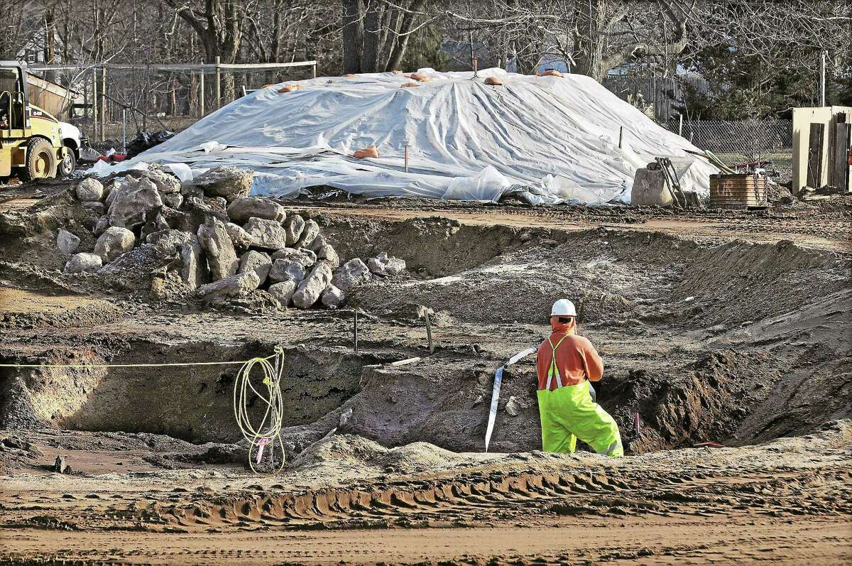 This file photo from February 2012 shows clean-up underway at Durham Meadows. This project is under the Superfund Program of the U.S. Environmental Protection Agency.