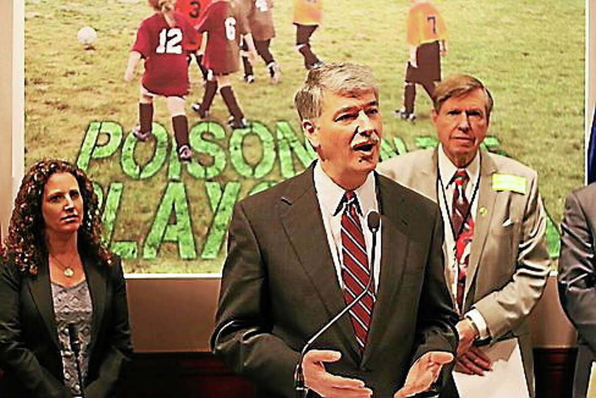 State Sen. Don Williams talks about GMO grass.