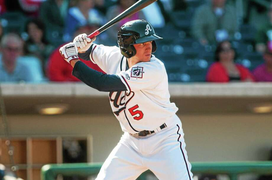 UConn product Nick Ahmed got his feet wet in the major leagues this season, but is now back down in Triple-A with the Reno Aces to get consistent at-bats. Photo: Photo Courtesy Of The Reno Aces